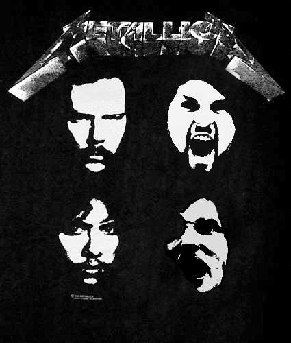 Metallica Garrick Black Album