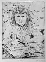 Solange Kellerman_Memory of childhood in France