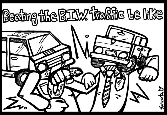 BIW Traffic Gag