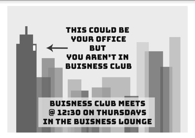 Business Club PSA